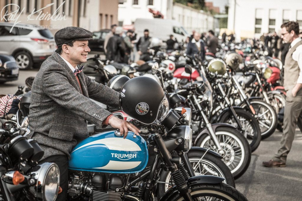The Distinguished Gentleman's Ride 2017 Nuernberg