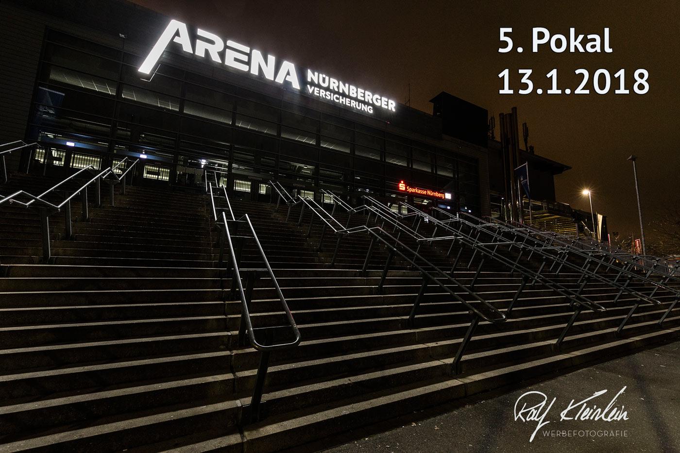 5. Pokal der Arena Nürnberger Versicherung am 13.01.2018